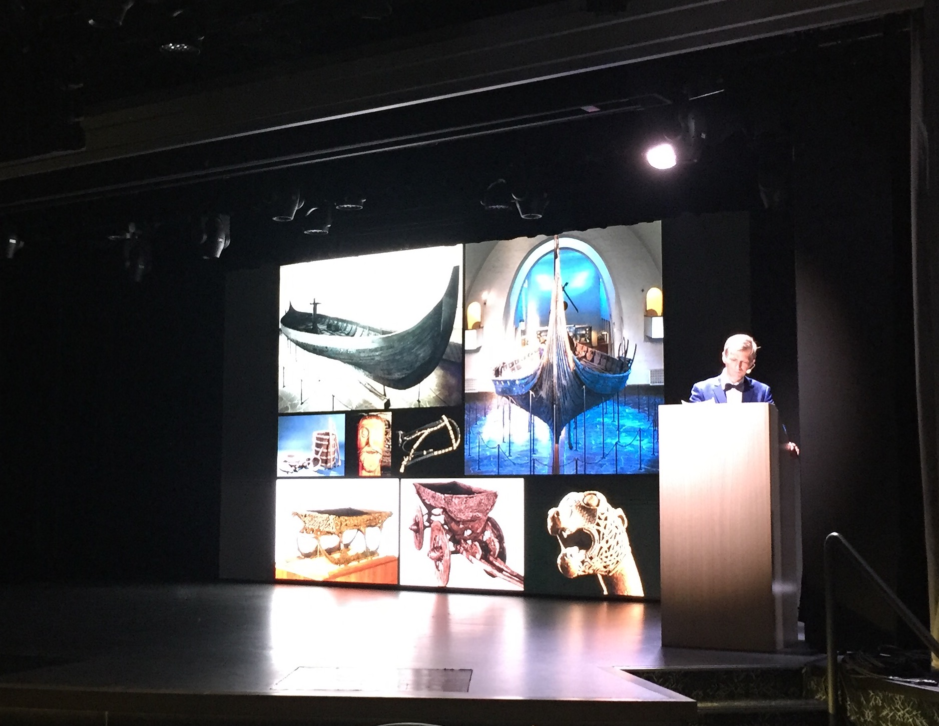 During my Viking Orion cruise I attended an interesting lecture on Norse history given by an expert in the subject