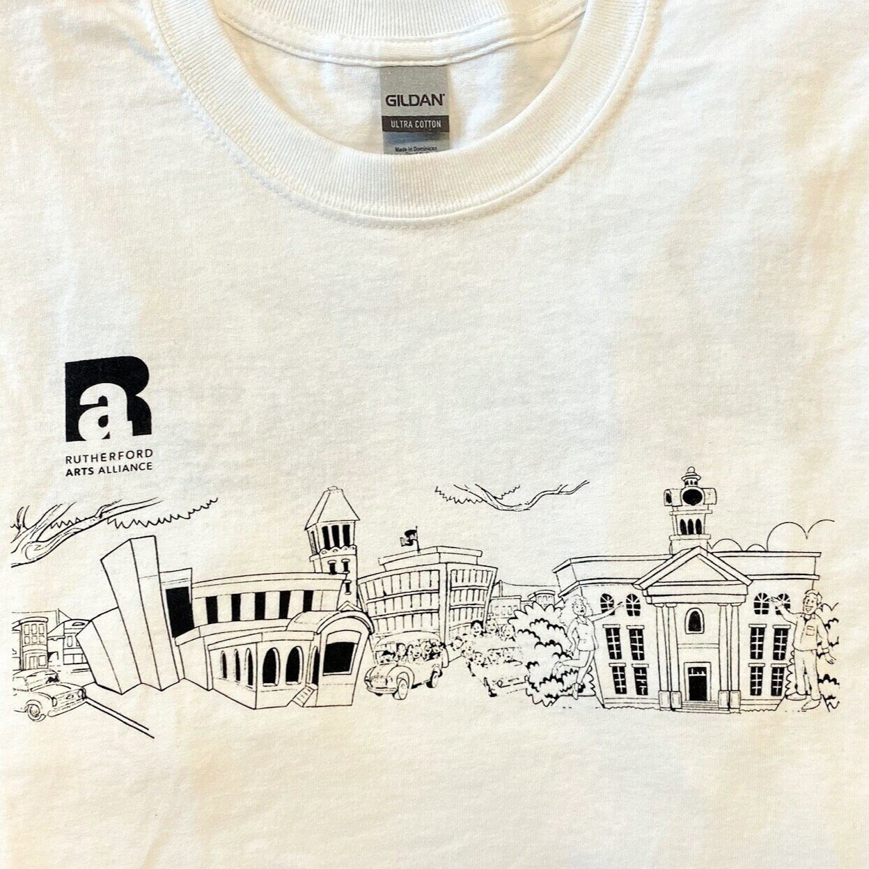 wear a norris hall design - The t-shirt raises awareness and funds for RAA - and is suitable for fabric paint to show your own colors!