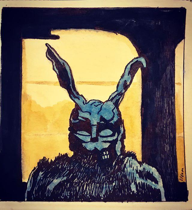 Donnie Darko #halloween #halloweenfilms #donniedarko #31daysofhalloween #christopherolsonartdotcom