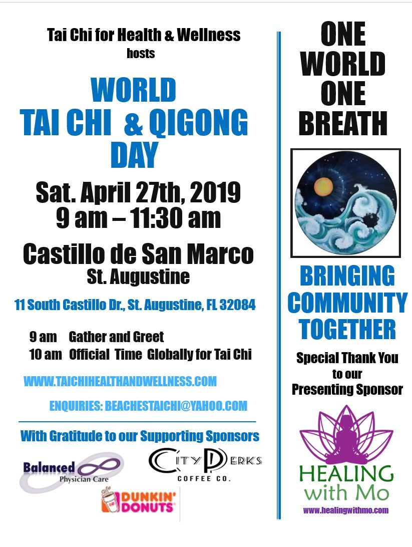 St. Augustine Tai Chi for Health & Wellness