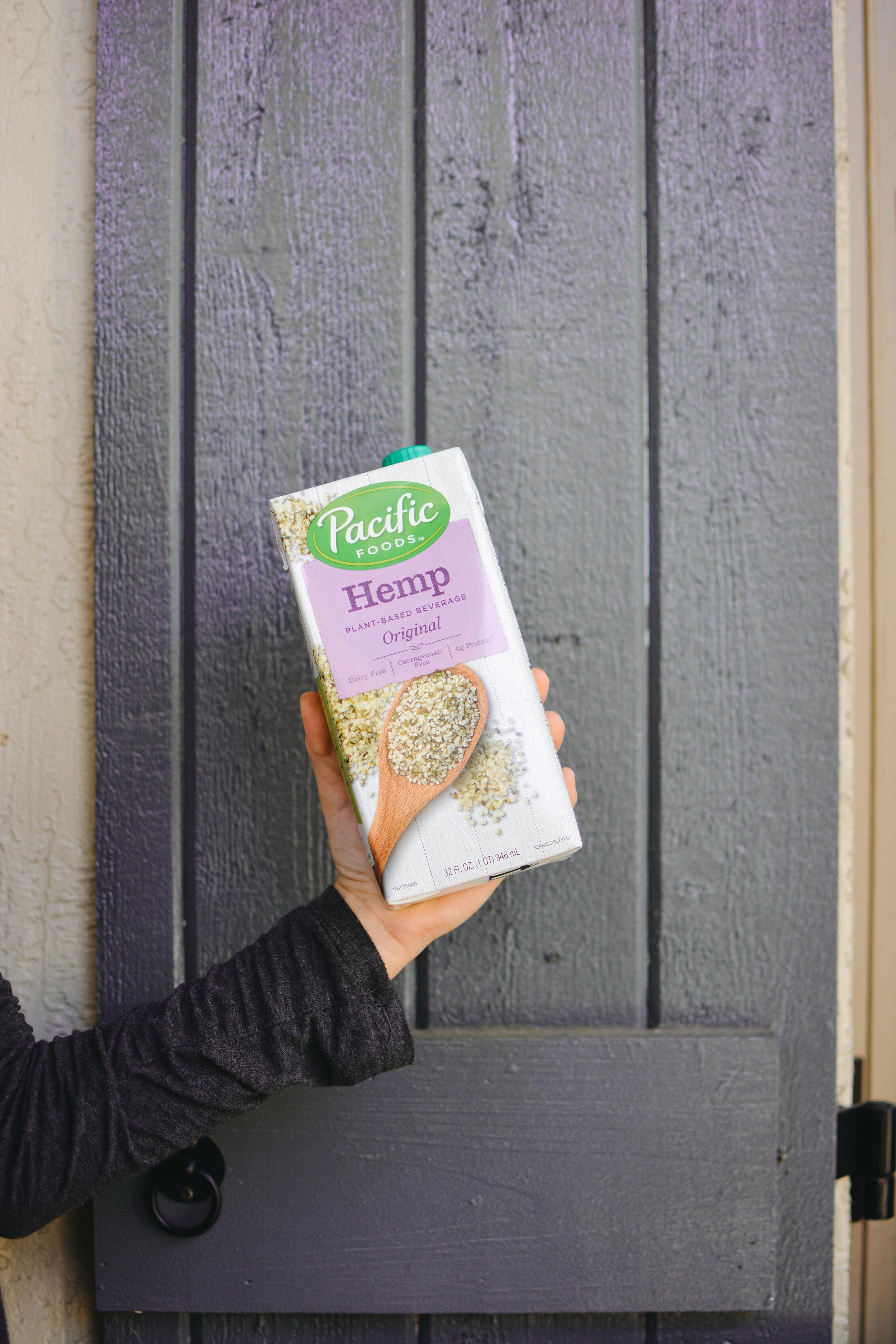 hemp milk nutrition
