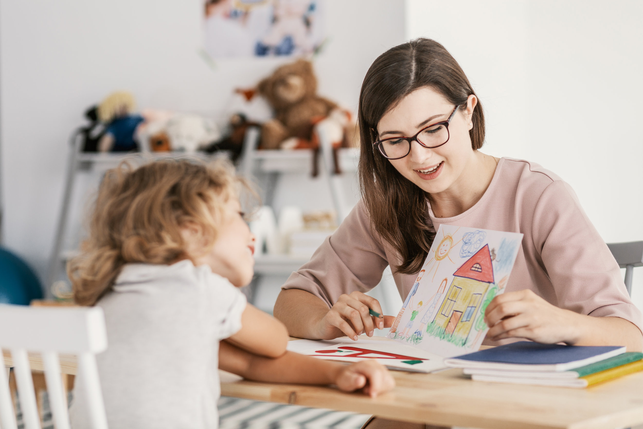 Our Process - Interested in our approach to helping your child? Click here to learn more about your first visit and our subsequent therapy plan.