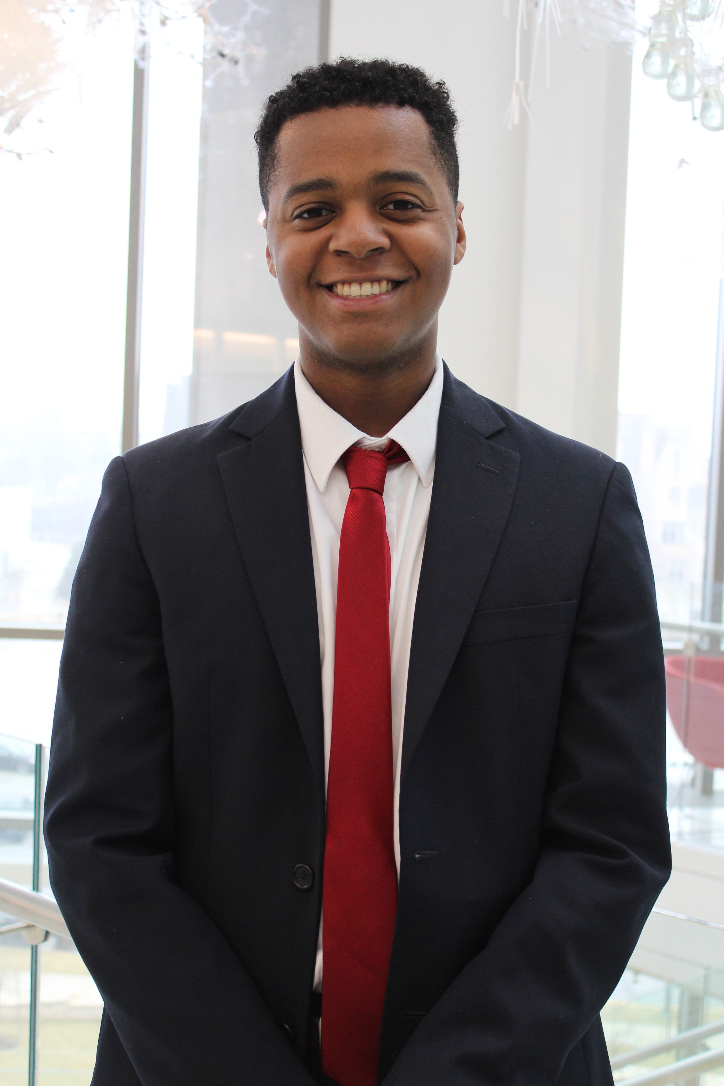 Michael Hudson:Policy Director - Michael Hudson is from Cincinnati, Ohio. Michael is a sophomore in the Kelley School of Business studying Finance, Operations Management, and International Business with a minor in Spanish. Michael is super passionate about increasing the diversity among campus, and making sure that every student feels welcomed and accepted here at IU! Last year, he also had the opportunity to serve as an IUSG Freshman Intern to the President. Michael is also involved in IUDM, the professional business fraternity Phi Gamma Nu, and in Alternative Break Program in Kelley, where he had the chance to volunteer in Ghana. Michael believes that every student on campus should have a voice in the decisions made on campus, and it is his vision to create a more welcoming and inclusive campus.