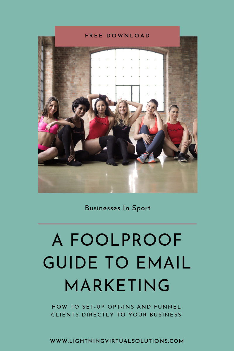 - If you found this useful and want to go about setting up your own email marketing campaigns, download our FREE guide to building an email list!