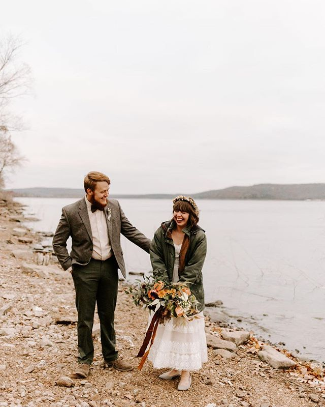 So if no one else has noticed it is cold outside. And this wedding was no exception to the cold. But through red hands and shivering to their core these two had an incredible wedding day!!! One for the books!!
