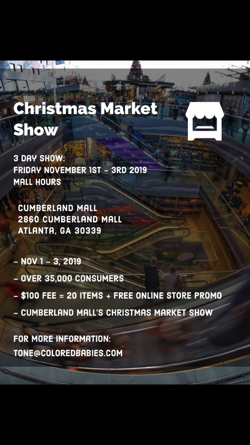 Cumberland Mall Christmas Market Show