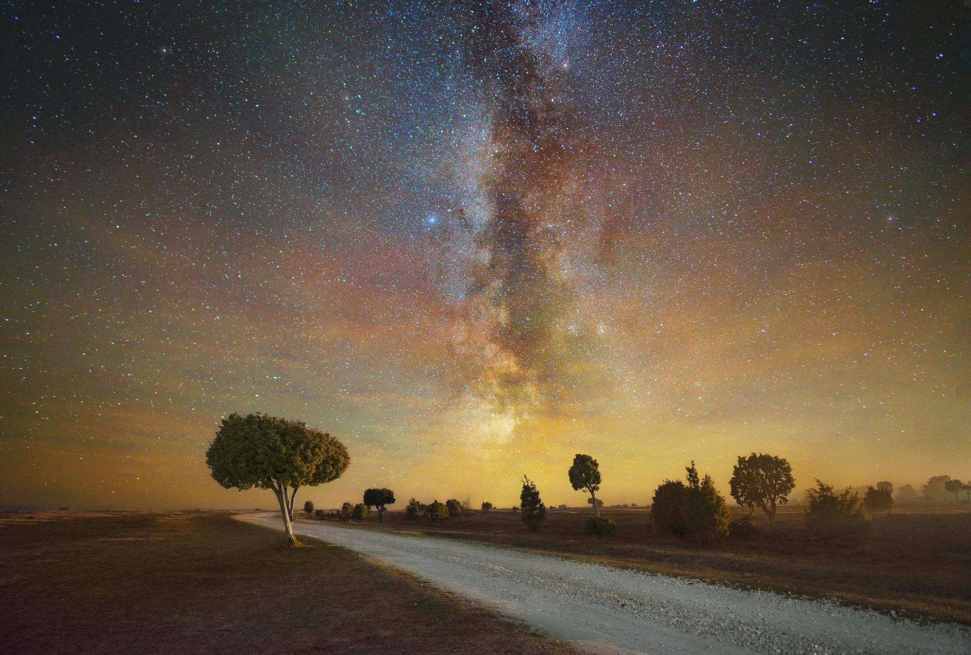 Stjärnorna i norr 70 x 50 cm