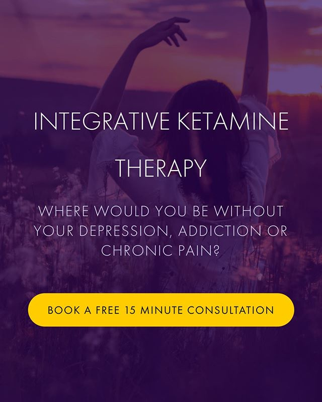 Where would you be without your depression, addiction or chronic pain? . . . Learn more about the conditions we treat by visiting out site (link in bio) and book your free 15 minute consultation today. . . . Thank you for following us on Instagram 🙏🏾❤️