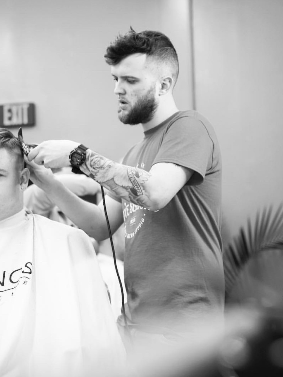 DINO DURAKOVIC - Born in New York, raised in Waterloo. His desire for barbering started on the Instagram explore page. Graduated from College Of Hair Design in December of 2017.