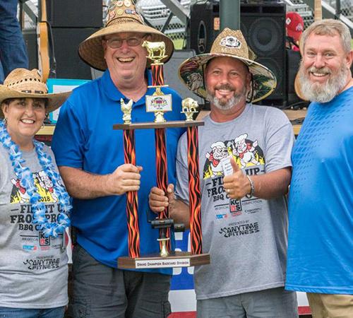BACKYARD GRAND CHAMPION: Parrothead Porkers