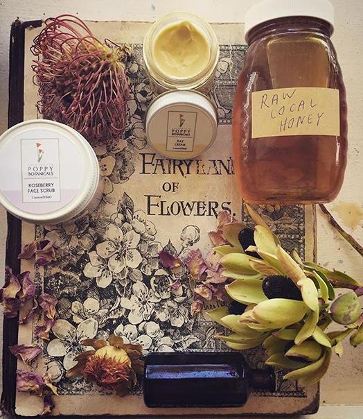 Local, handmade, ethically harvested herbs, honey, salves, tinctures, herbal medicine