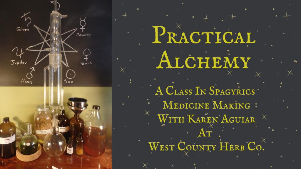 Practical Alchemy - Spagyrigs Medicine Making with Karen Aguiar