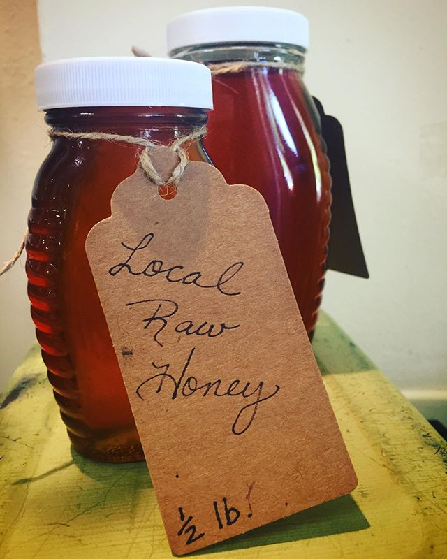 This honey has been known to soften the most wound up child, woo adults through tea and toast, and is often eaten with a spoon alone. Come in and get yours.  Open today through Monday.  #localhoney #honey #shoplocal #beesandherbs #westcountyherbcompany #westcounty #occidental