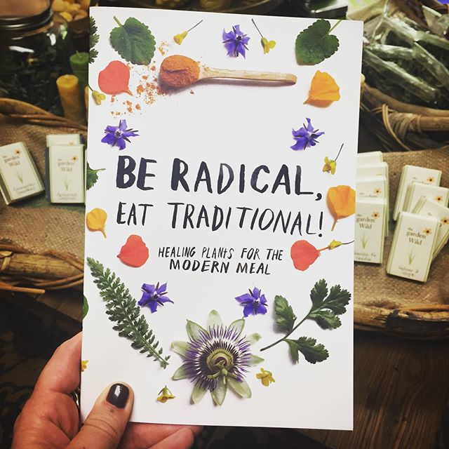 Shout out to our sisters in Bodega! Sarah and Summer from the Kosmic Kitchen are amazing humans doing radical things to heal our community with food as medicine. And yummy, yummy medicine it is! We have their zine for sale and we are waiting with baited breath for their book release.  #radicaltraditions #beradicaleattraditional #thekosmickitchen