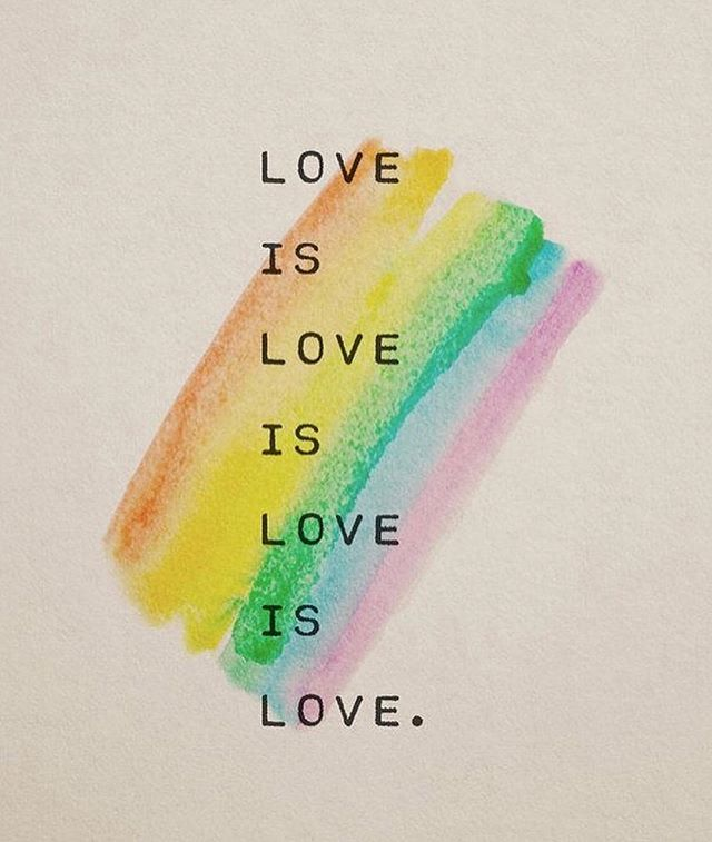 PRIDE// Happy pride weekend baby! 🏳️‍🌈✨ To my LGBTQ+ friends, families, and clients - your love makes the world go round.❣️⚡️🌈 • 💕To my non LGTBQ+ friends and fam, plz remember, ~ we're all bi 🙃 ~. 💕 • Love is Love. ❤️🌈✨❣️ • • • • #pride #pridemonth #stonewallriots #stonewalllives #lgbtq #humanrights #loveislove #mentalhealthawareness #mentalhealth #therapy #nyctherapist
