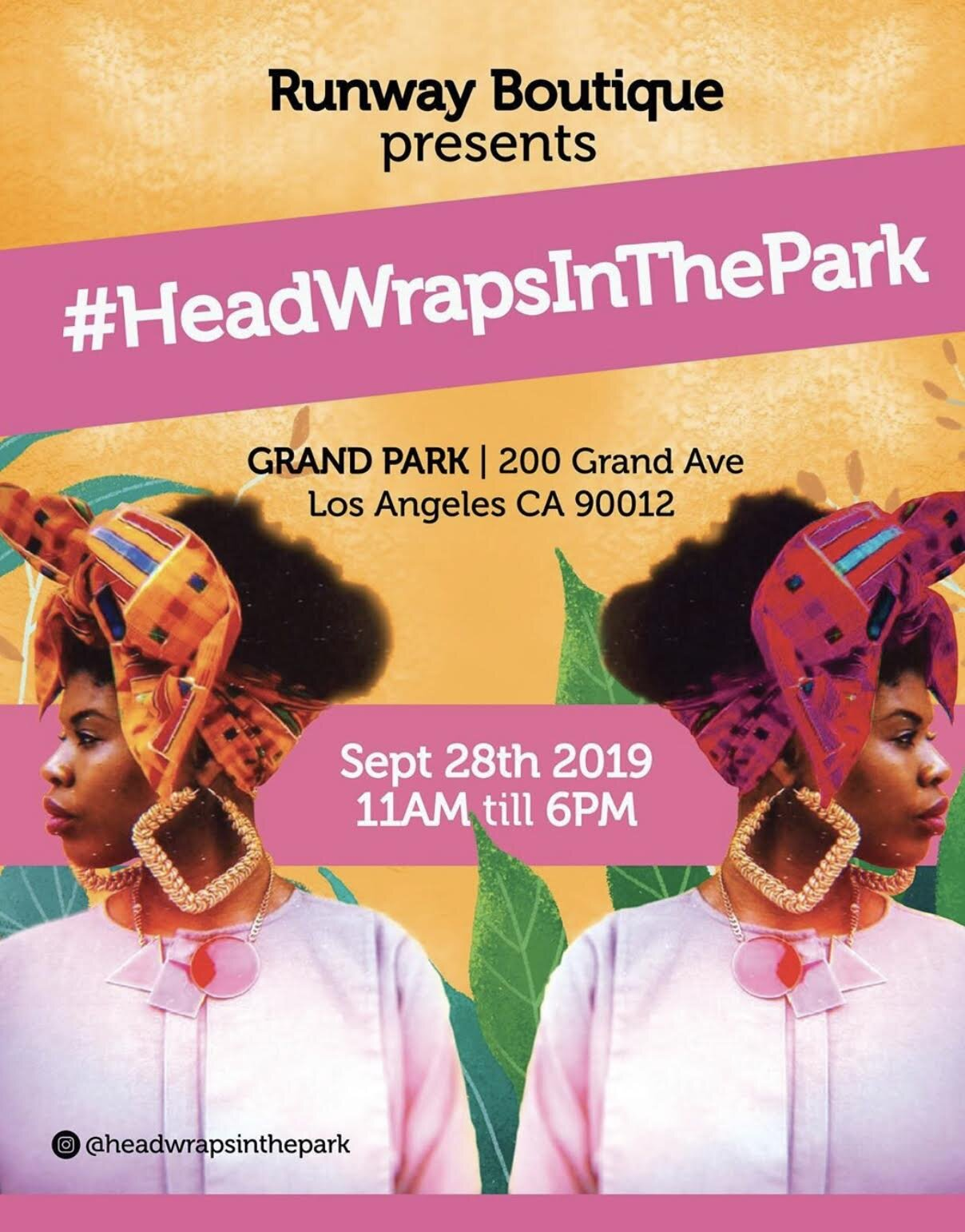 Fall is here! To kick the new season off, Junie Bees Butta will be at  Head Wraps in the Park  ( HWP ) this Saturday, September 28 from 11am-6pm at  Grand Park.  You don't want to miss this event! Fun for the entire family, kids creative lab, music, food trucks, free entry, and of course lots of Junie Bees Butta! Come out to stock up on Butta to keep your skin glowing and moisturized. for Fall. Look for us in the Beauty tent with other awesome beauty and skincare vendors.  For those of you who can't make it, enjoy  HWP  market prices all this week using code  HWP20  for 20% off all orders over $20.  We love our Butta Family and we don't want anyone to miss out!  See you soon and happy shopping!    Butta + Love=  Junie Bees Butta