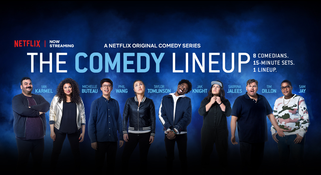 The Comedy Lineup    → Marketing + Social Content Strategy, Community Management