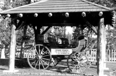 Stagecoach Shelter - 1928