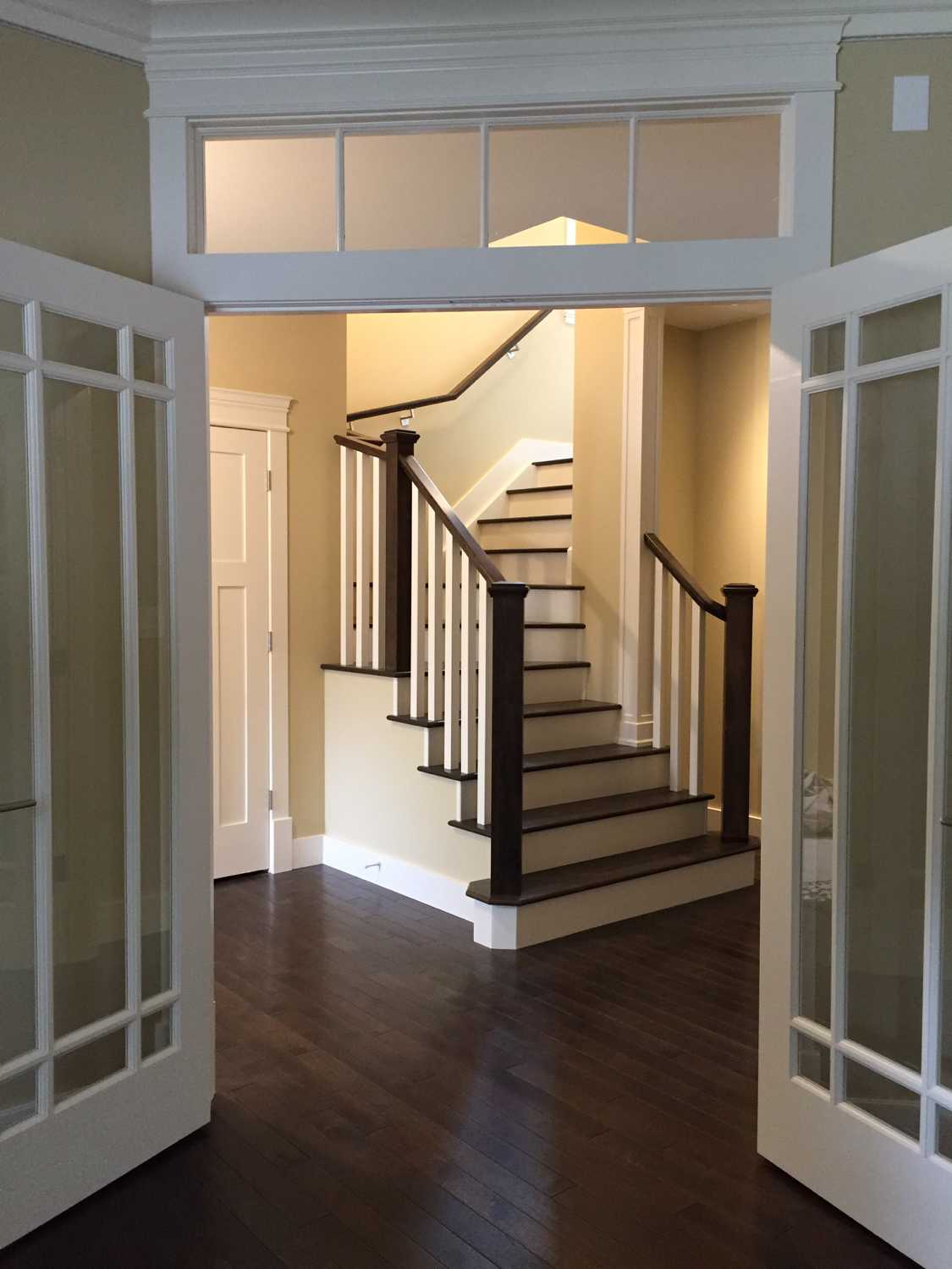 Staircase from Living room