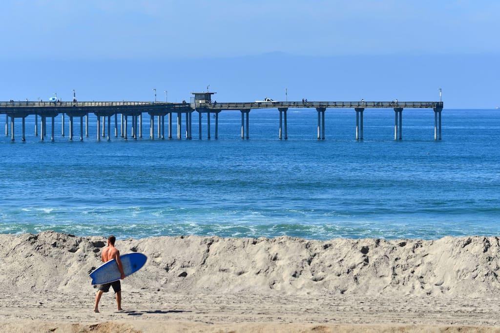 SURFER OCEAN BEACH