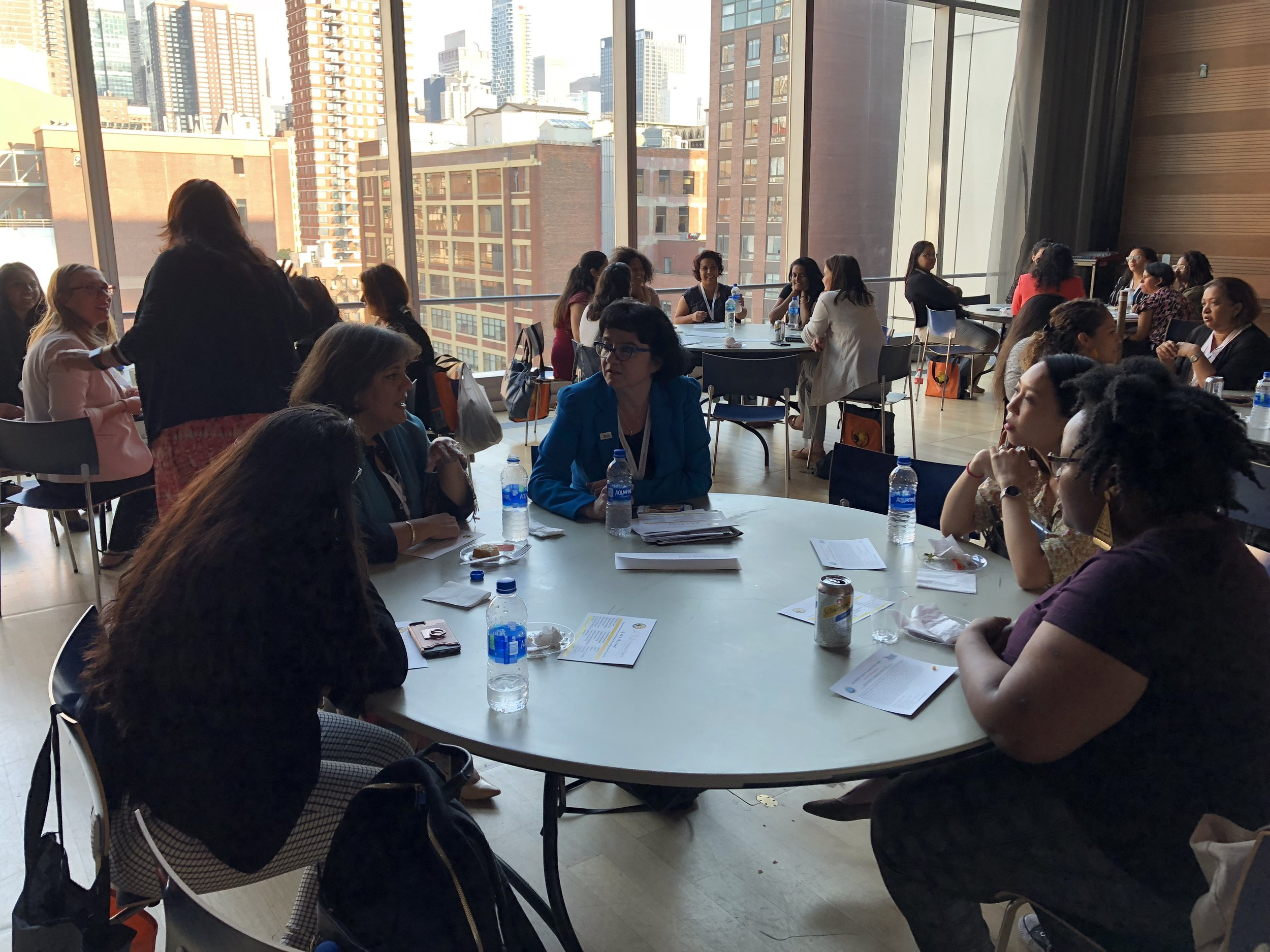 Networking event of Truth Values Community in partnership with the Latina Researchers Conference, John Jay College, The City University of New York