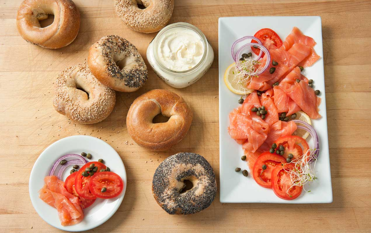 traditional bagels - made from scratch with local & organic ingredients
