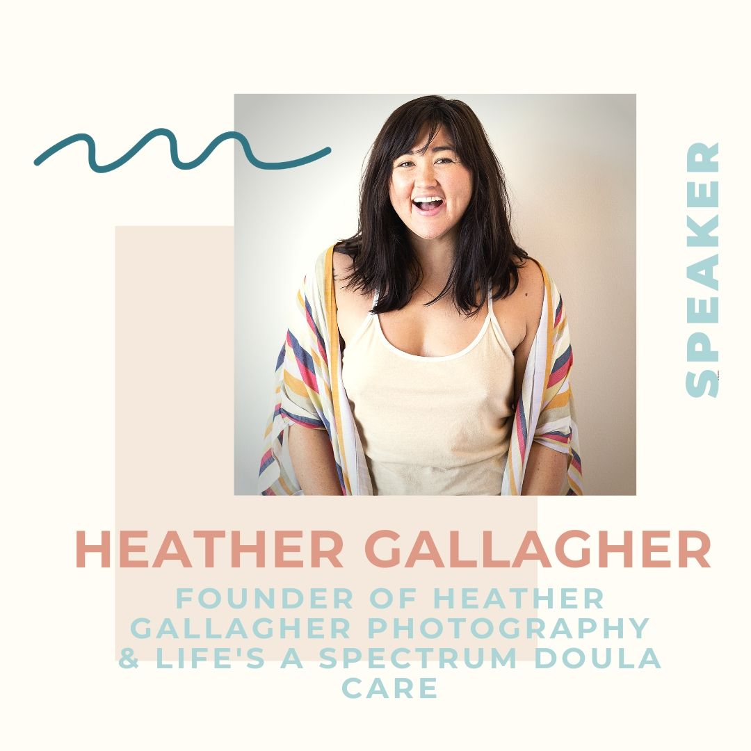 Heather Gallagher  is a Chinese American, internationally award-winning and published family photojournalist, editorial and commercial photographer of over 15 years. She is also a full spectrum doula, supporting people from pre conception to end of life. Heather speaks frankly and transparently about her experiences as a multi racial CODA (Child of Deaf Adult) and how this has inspired and informed her work as a witness and emotional support person to individuals and families in all transitions in life. Heathers work serves to make all people from all walks of life feel seen and heard without judgement and to show that at the end of the day, we are all more alike than different. Originally from Maryland, Heather and her husband call Austin home and together raise their 5 year old son, Levon here.