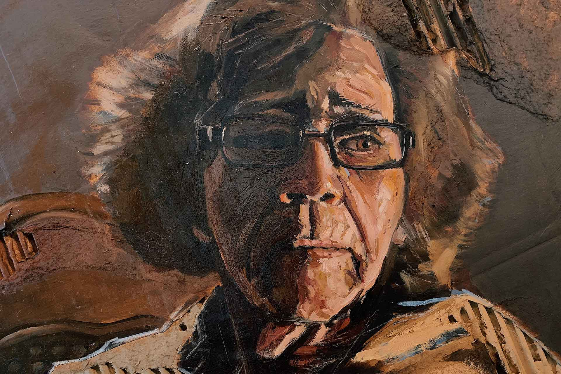 "Robert Nehemiah, ""Portrait of a Grandmother"""