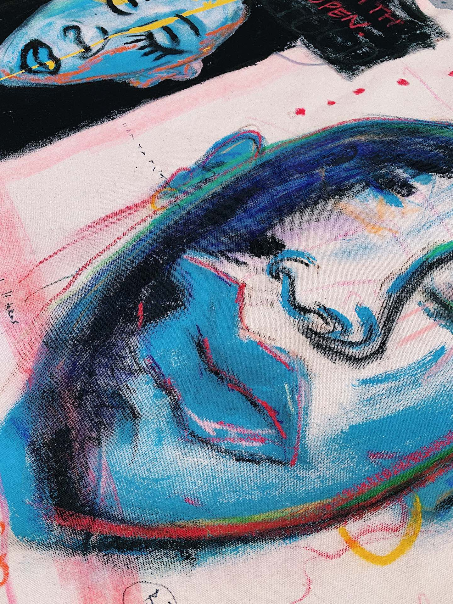 Suni Mullen, a.k.a Blak Kanvas at Stay Gallery