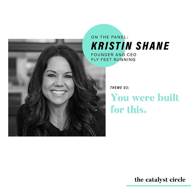 Our very own @kristinshane1 is on the panel to talk about the walls you may hit in your career and how you can build something bigger. • After completing a successful career as a Target executive, Kristin knew that her next mission was to impact the day-to-day lives of those around her through fitness. Her vision was realized after she carefully crafted the perfect team and launched @flyfeetrunning in Fall 2016 as Founder and Owner. Under Kristin's leadership, the success of Fly Feet has fostered the emergence of a tightly-knight community with members who strive to push each other both physically and mentally. The concept took hold so quickly that Kristin was able to launch a second fitness studio within a year and continues to expand her outreach. • Kristin is the ultimate example to parents who want to run their own businesses without compromising their family lives. Kristin has masterfully balanced being a mother of three while simultaneously launching a successful start-up and providing consulting services to other businesses. • Her personality is infectious and her problem solving skills are unmatched. Join us on 6.25 as she undoubtedly goes rogue and helps YOU figure out what your next move is. • and now for the hashtags... #TheCatalystCircle #mentoring #MNmentoring #minnstagrammers #minnesota #entrepreunerlife #makingmoves #working9to5 #womeninbusiness #creativelifehappylife #risingtidesociety #onmydesk #whereiwork #successcoach #business #twincities #onlyinMN #exploremn #ittakesavillage #startupcapitalofthenorth #MSP #flyfeetrunning #treadmighty
