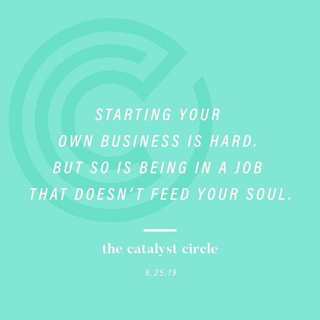 Our panelists have all been there and are now on the other side of starting their own thing, or working to get a startup off the ground. They'll share how they made the transition from their cushy corporate jobs to building thriving companies and what they learned along the way. • and now for the hashtags... #TheCatalystCircle #mentoring #MNmentoring #minnstagrammers #minnesota #entrepreunerlife #makingmoves #working9to5 #womeninbusiness #creativelifehappylife #risingtidesociety #onmydesk #whereiwork #successcoach #business #twincities #onlyinMN #exploremn #ittakesavillage #startup