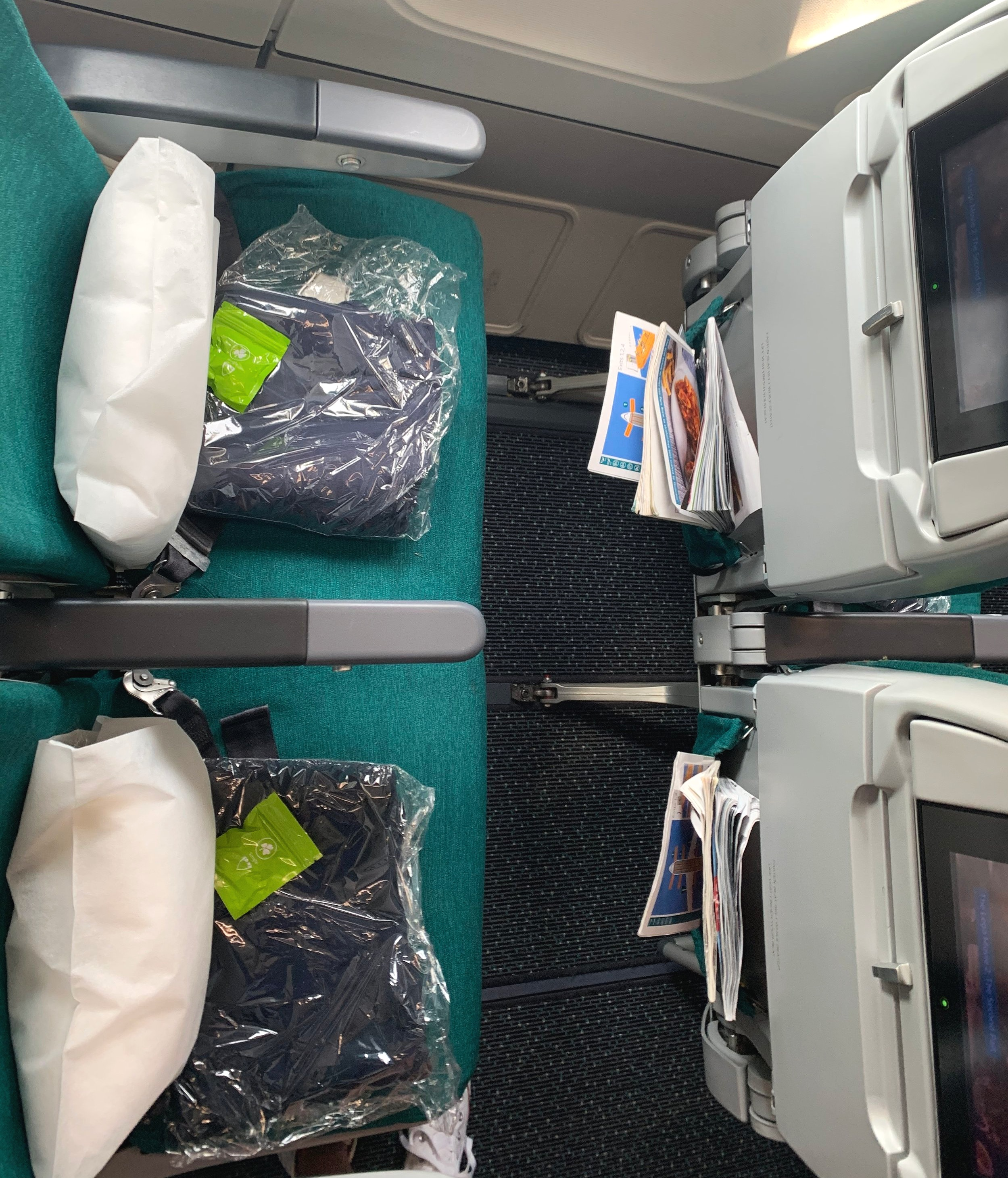 Aer Lingus Toronto To Dublin Flight Review Distant Points