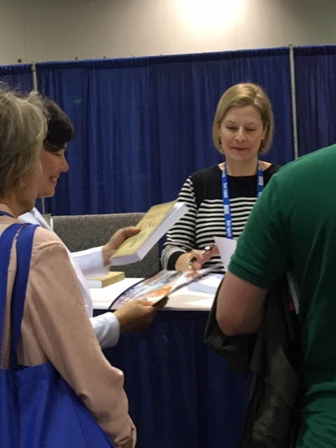 Book signing at Proclaim 19.