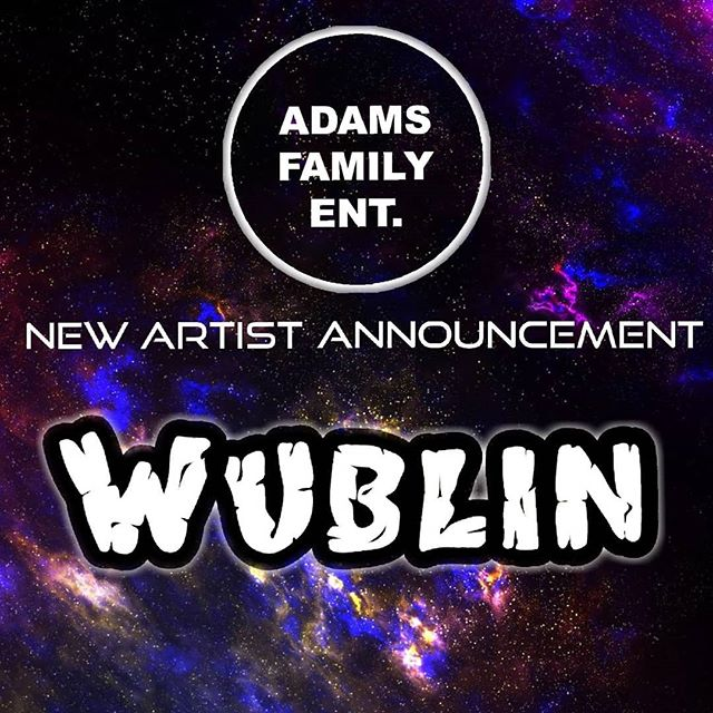 I am super stoked to announce that I have joined the @adamfamilyentertainment fam jam of eager super talented individuals! Keep your eyes and ears on these guys they are making massive moves that you do not want to miss out on!🔥 #wubblegang #adamsfamilyentertainment