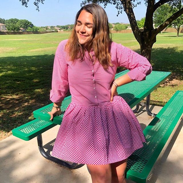 We're so plaid it's almost the weekend! We love this post by Zfluencer Barbara N. in her August Morgan dress—perfect for summer! #zfluence