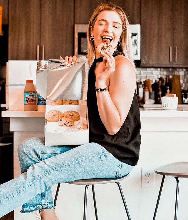 Our love for Tiff's Treats is most definitely not half-baked! 🍪🍪 We love this post by Zfluencer Channing B. who is enjoying her warm, delicious, and freshly baked cookies from Tiff's Treats. #zfluence