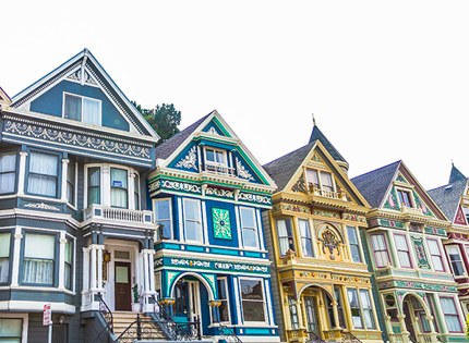 Color abounds in this San Francisco neighborhood