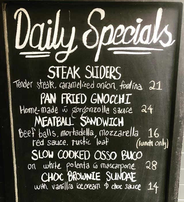 Specials of the day at Cityballs 👌🏼