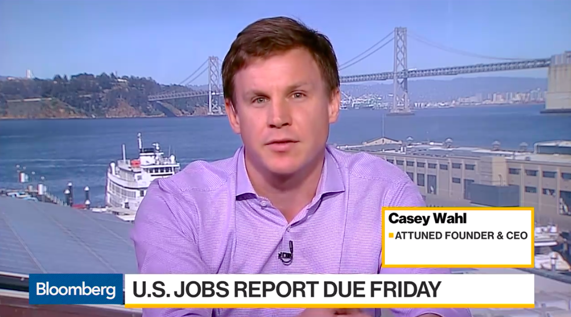 Casey Wahl on Bloomberg TV