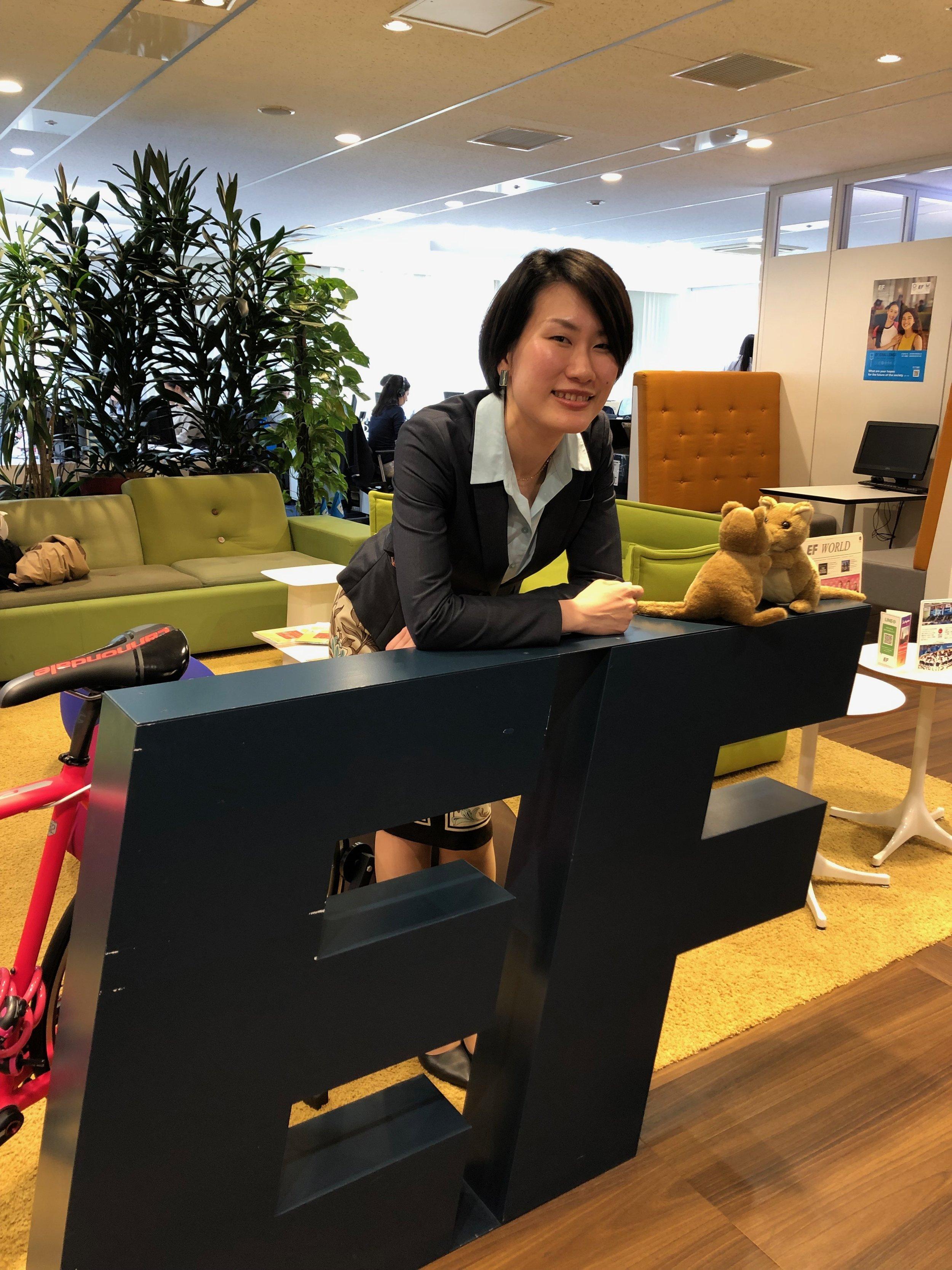 Shoko Hasuo - International Education Executive Manager,EF Education First Japan