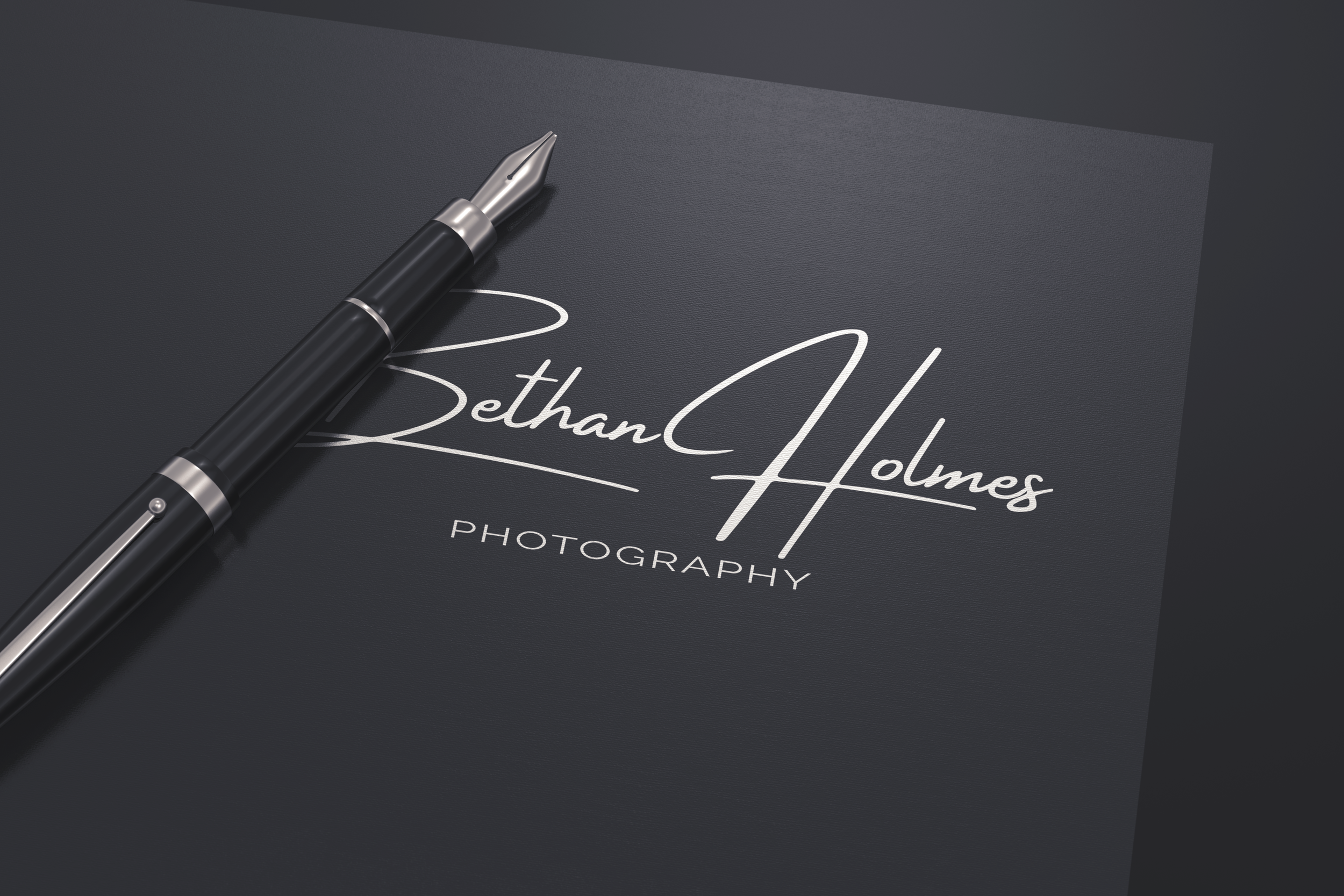 """Beautiful, simple & timeless designs - """"I still get comments on my logo and it has given my photography a more professional feel"""" - Sam Jenkins"""
