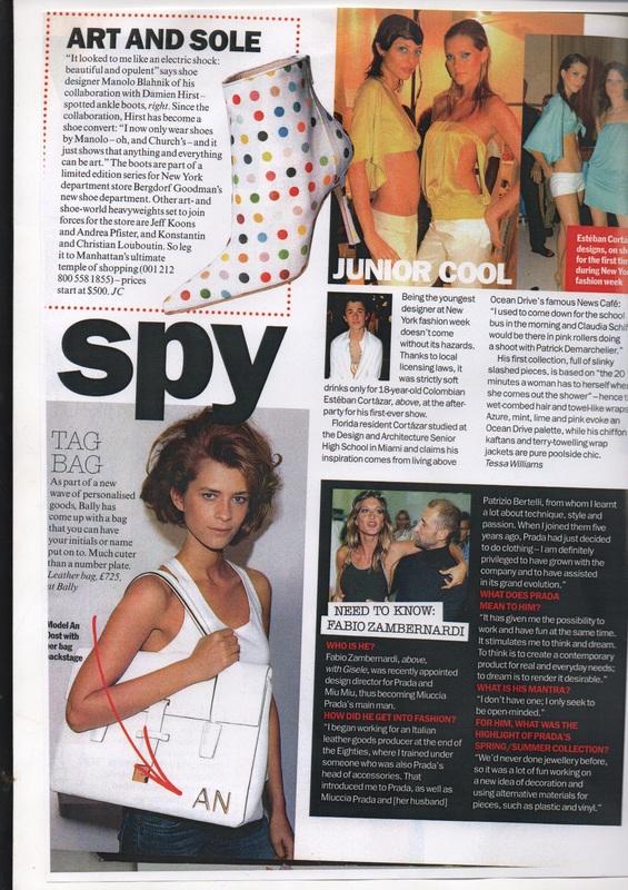 "Vogue  ""Spy"""
