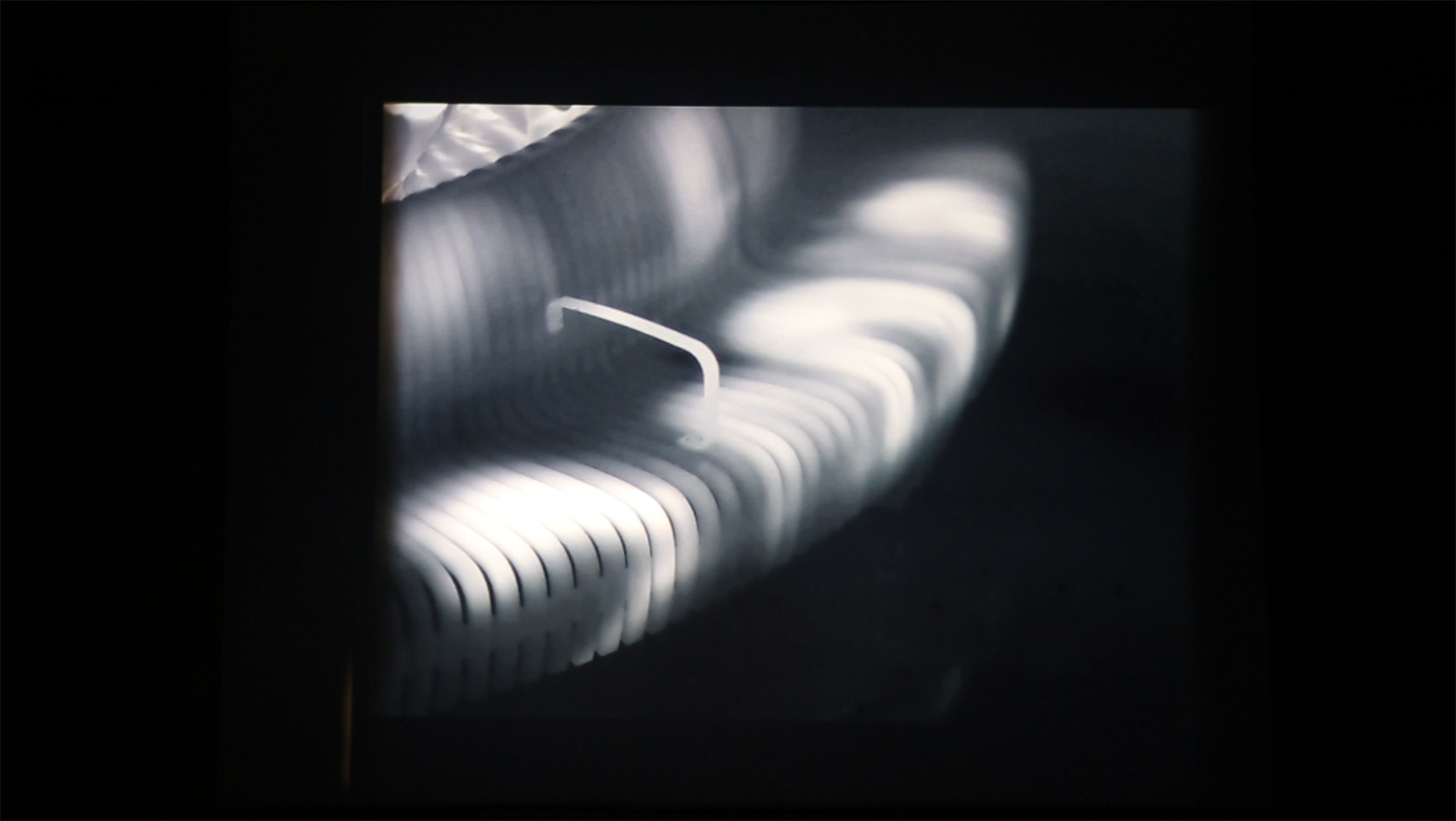 Interbeing,  Kalbjerga Film Festival, 35 mm film on carbon arc projector, 10 min 40 sec, 2018