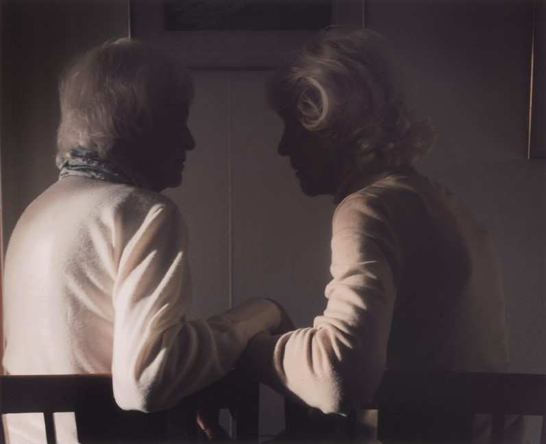 Kerstin Hoogland-Jönsson and Eva Stockhaus From Far Too Close by Martina Hoogland Ivanow published by SteidlMACK