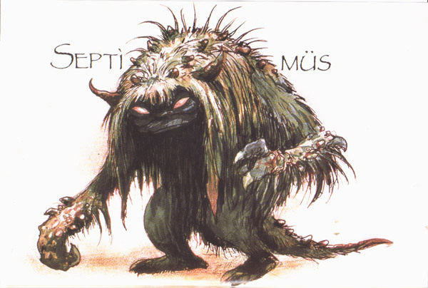 Art by the ever-astonishing Brian Froud, from  The Goblin Companion .