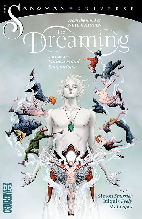The Dreaming, Volume 1: Pathways and Emanations - Cover art by Jae Lee