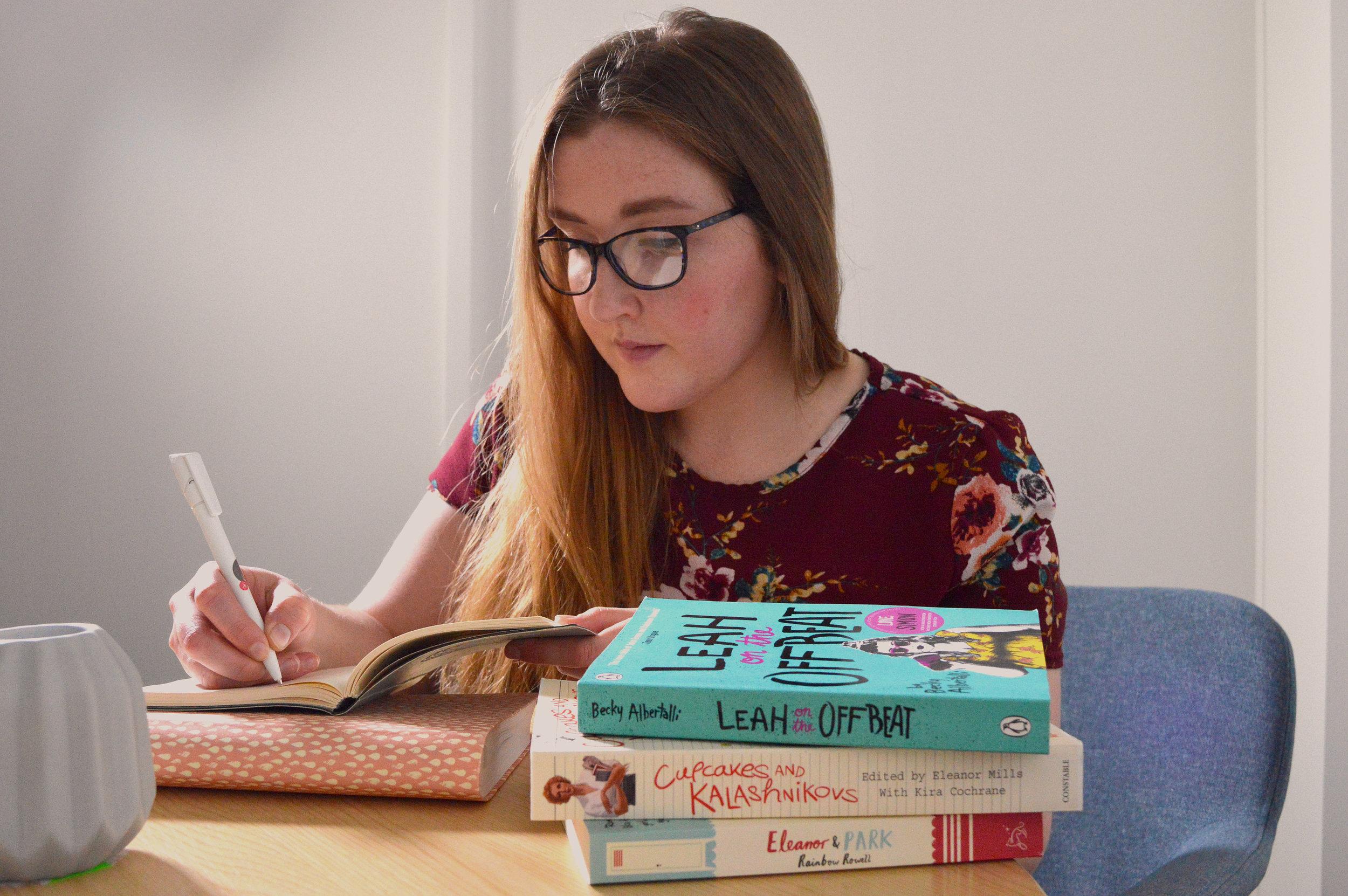 Emily writing writer publisher