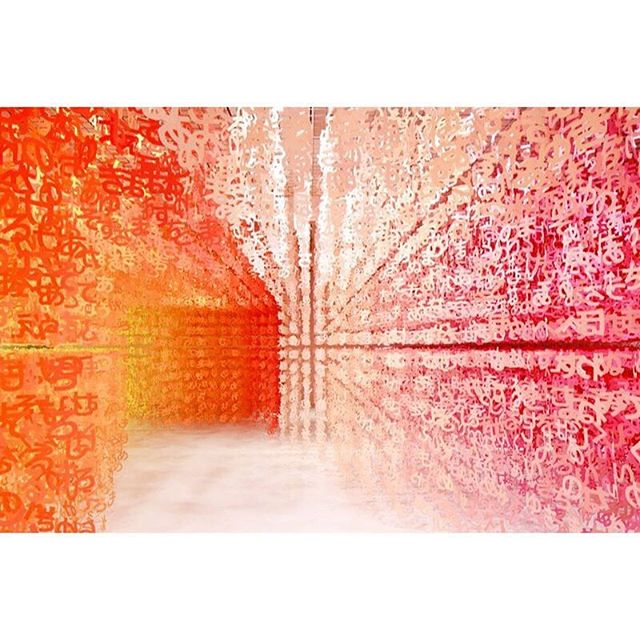 So inspired by this piece by @emmanuellemoureaux 😍 using full spectrum to compose intimate and thoughtful #spaces ⠀ #architecturedesign #interiorarchitect#bespoke #artisourweapon #designinspriration #spacedesigner #colourispiration