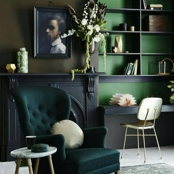 Vibrant, deep, luxurious, #emeraldgreen captivates hearts of interior designers and #homeowners alike. Versatile colour can be used for Living Room, Bedroom, or even a Bathroom.⠀ ⠀ #colourinspo #texture #propertydevelopment #turnkeyprojects #turnkeyinteriors #interior123 #interiordesignlondon #bespoke #bespokedesign #commercialdesign #bardesign #barinterior #designlondon #interiordesignlondon #interiordesign #restaurantdesign #residentialdesign #residentialinteriors #residentialproject