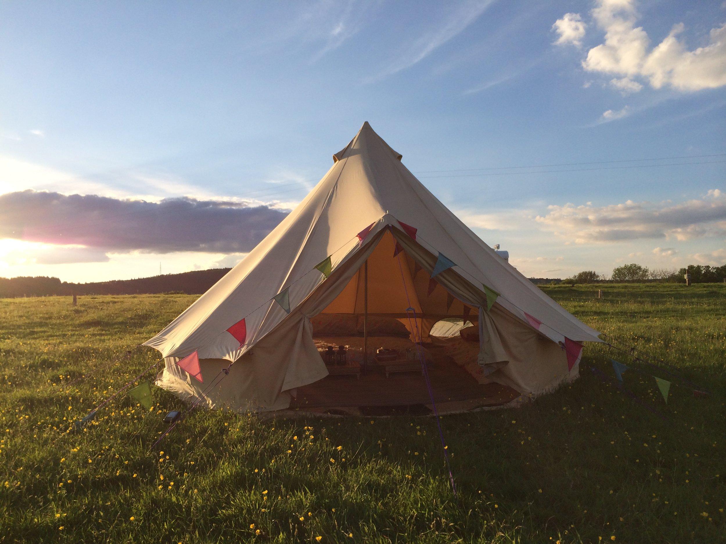Bell tent Wye Glamping @ Hay Festival (1).JPG